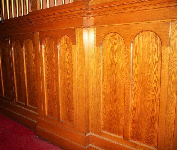 Gothic Oak Wainscot Paneling