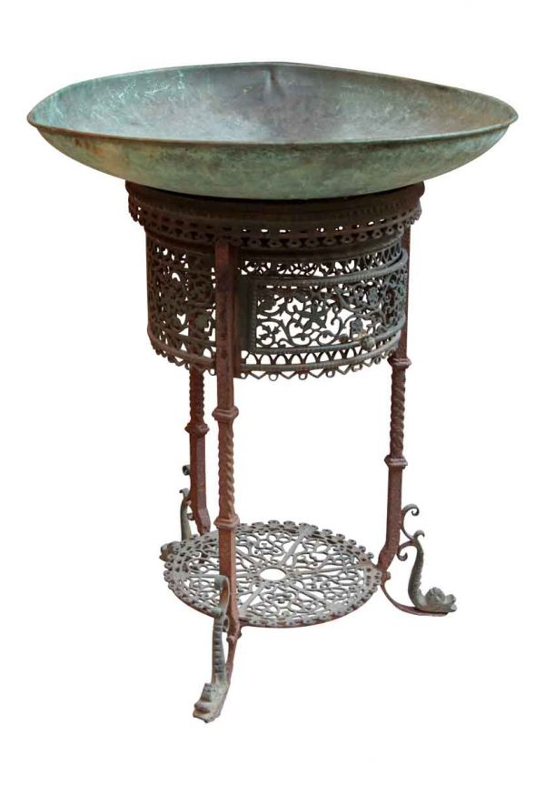 Bronze Fountain Done in the Oscar Bach Style