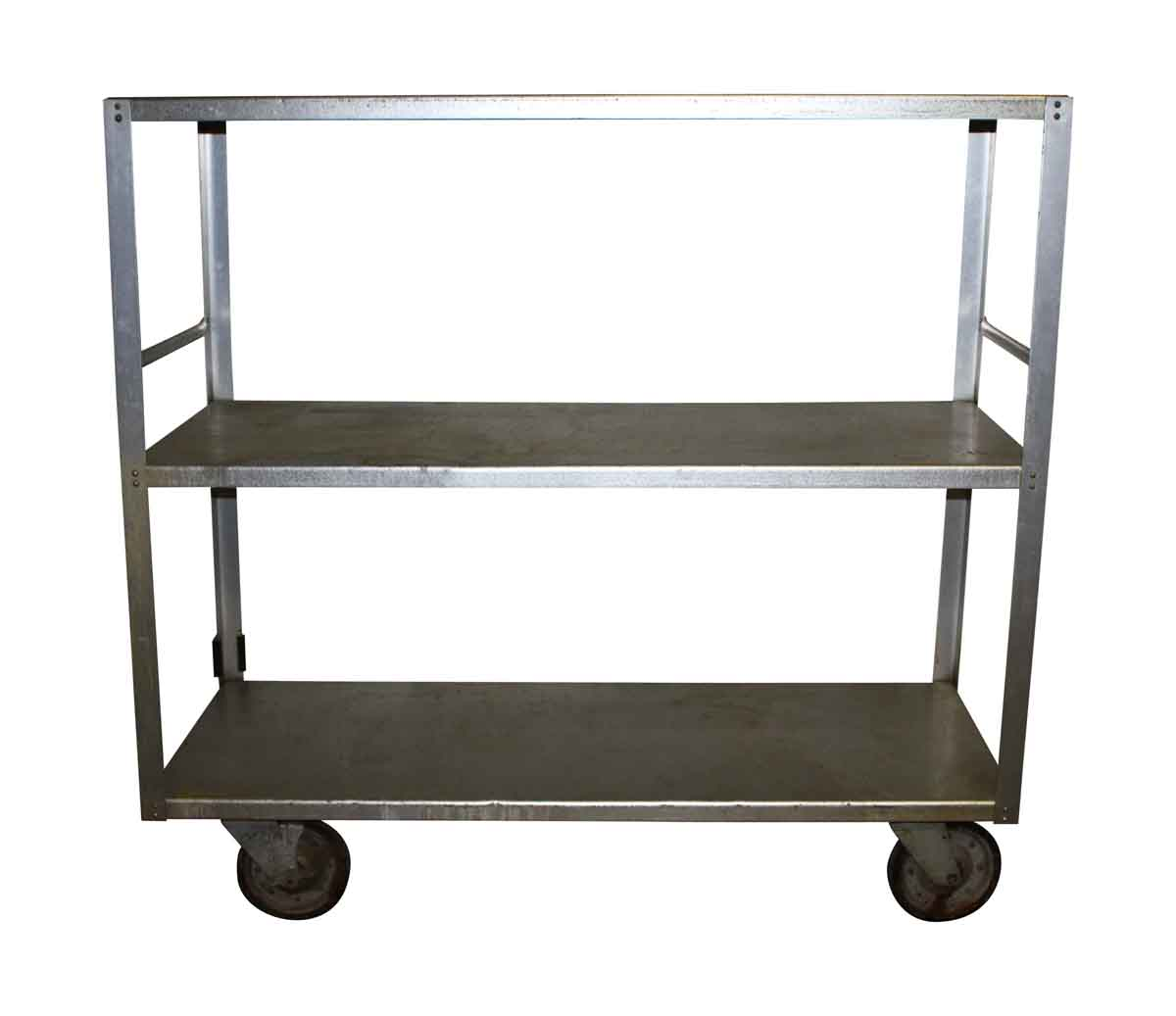 Vintage Industrial Metal Serving Cart