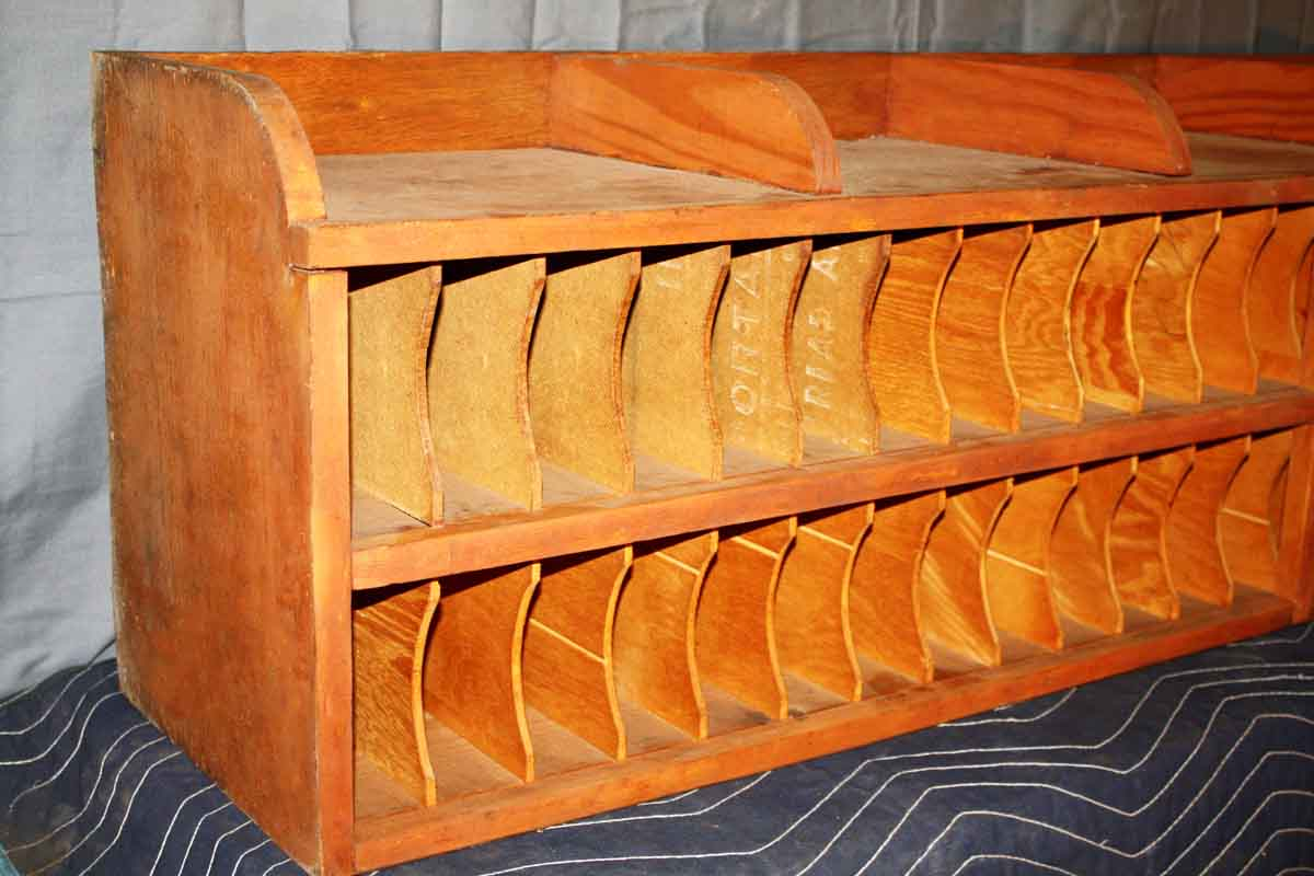 Pigeonhole Mail Slots For Desk Top