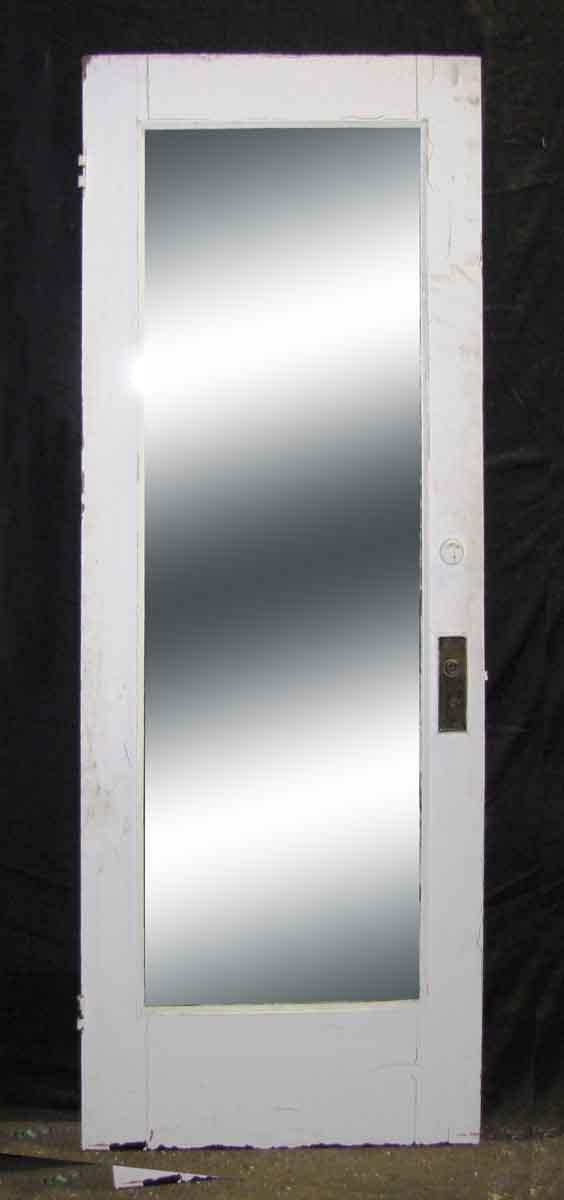 Gentil Single Panel Door With Full Length Mirror