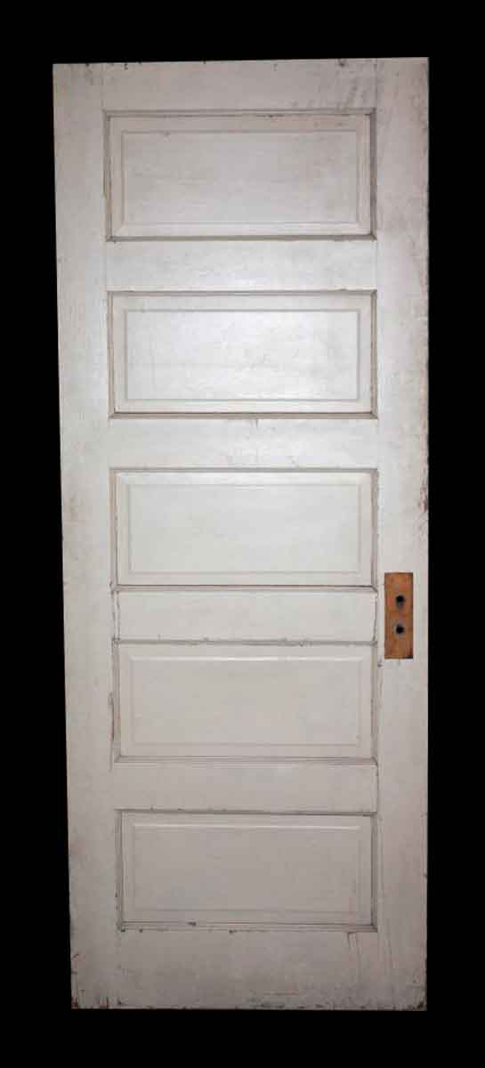 Antique Five Panel Door