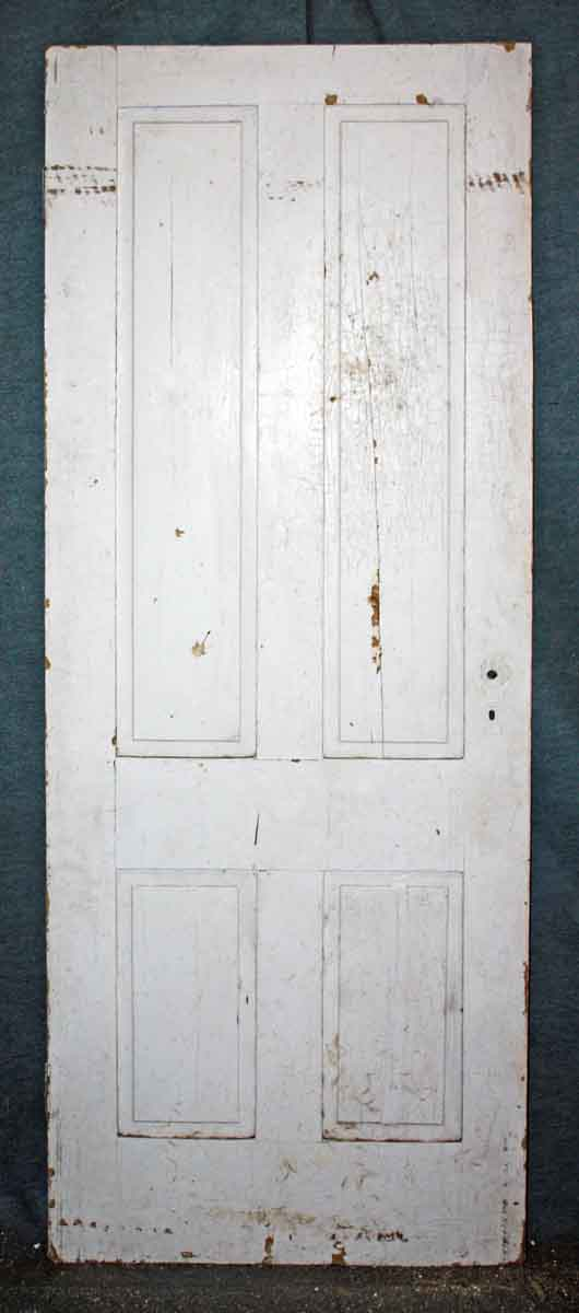 Antique Reclaimed Four Panel Door Olde Good Things