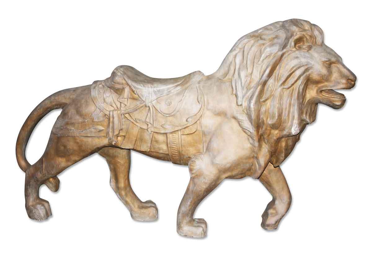 Fiberglass Lion Statue