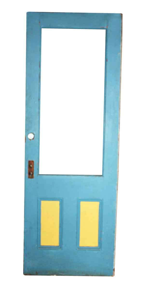 Three Panel Door Without Glass