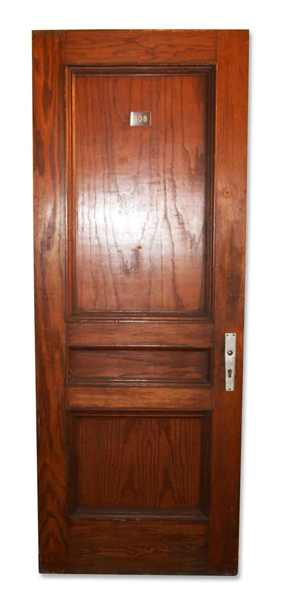 Original Three Panel Door