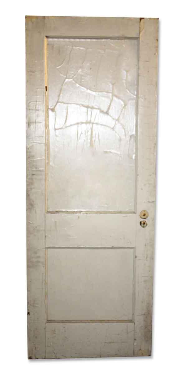 Original Vintage Two Panel Door