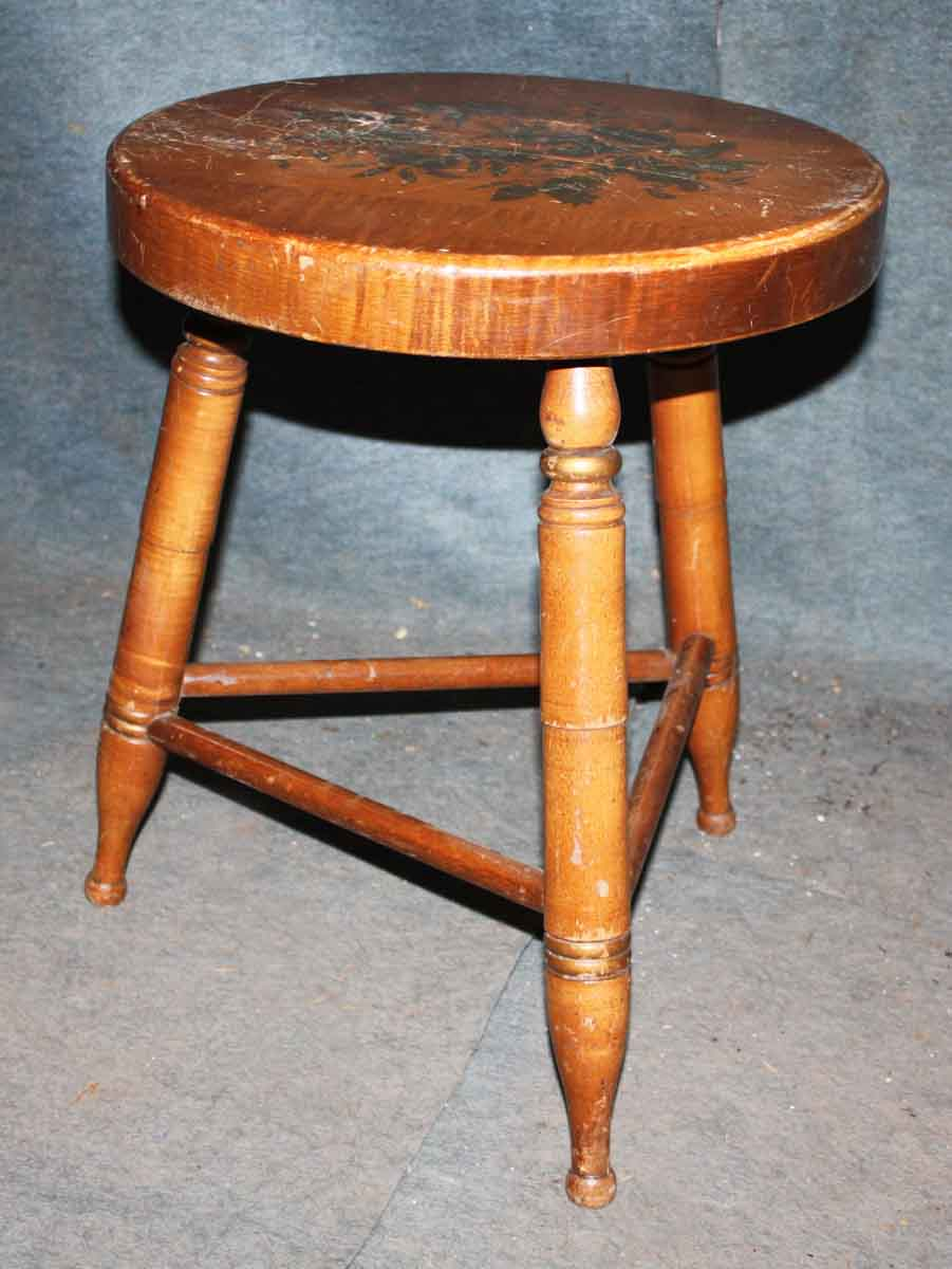 Simple Wooden Country Stool