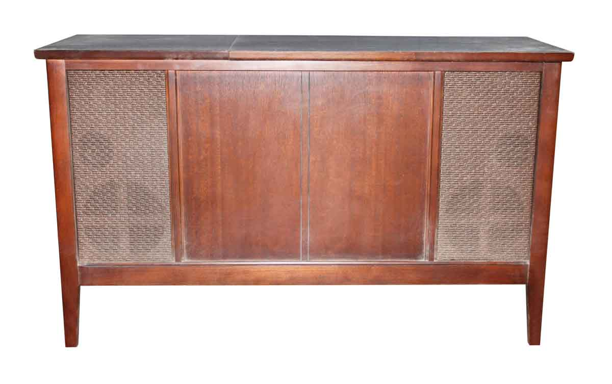 Antique Record Player in Wooden Cabinet - Antique Record Player In Wooden Cabinet Olde Good Things
