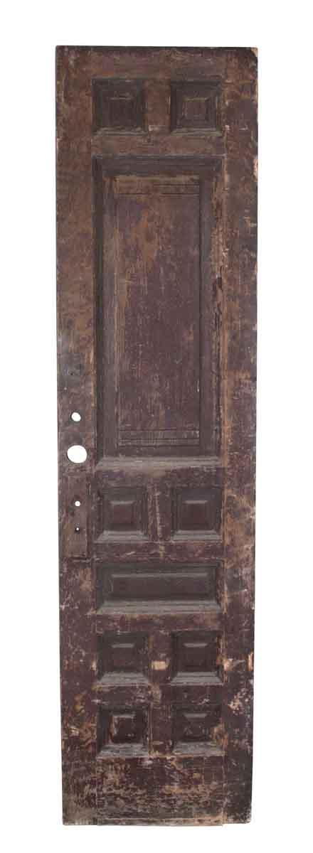 Tall & Narrow Brownstone Door