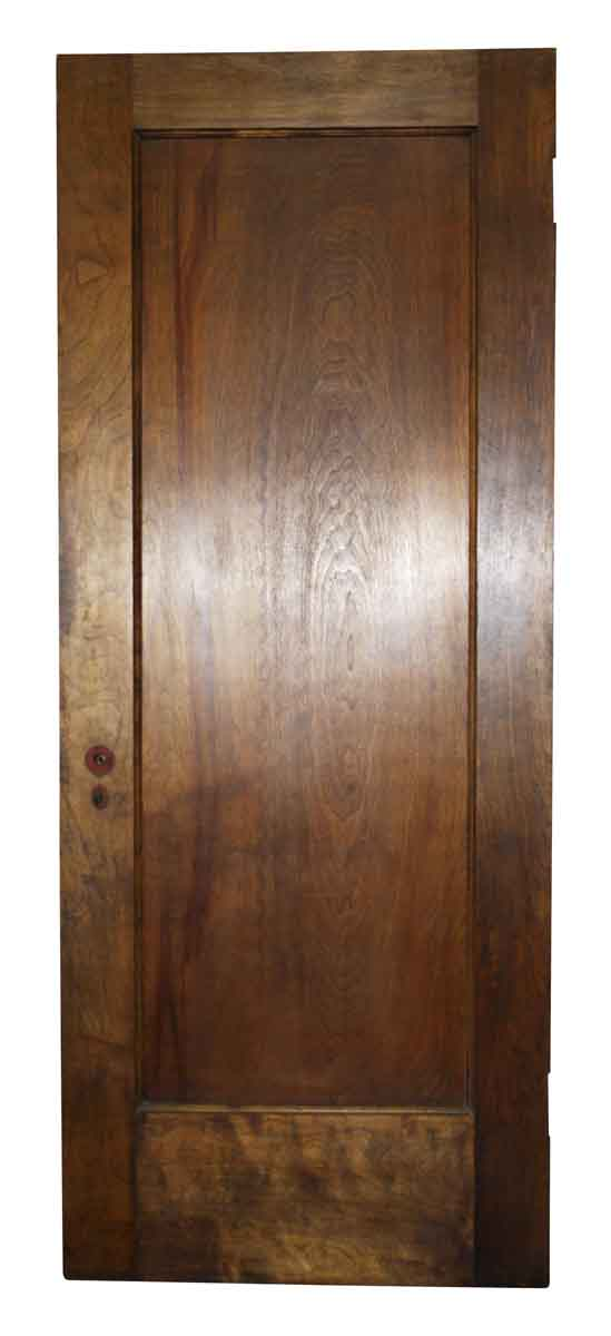 Mahogany One Panel Door