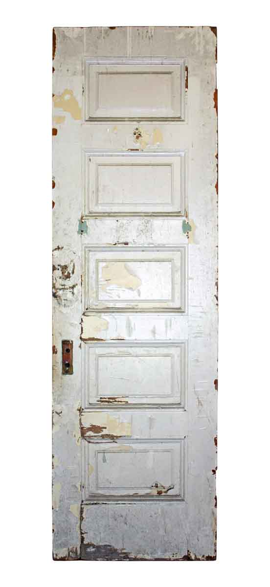 Door with Five Panel Horizontal Panels