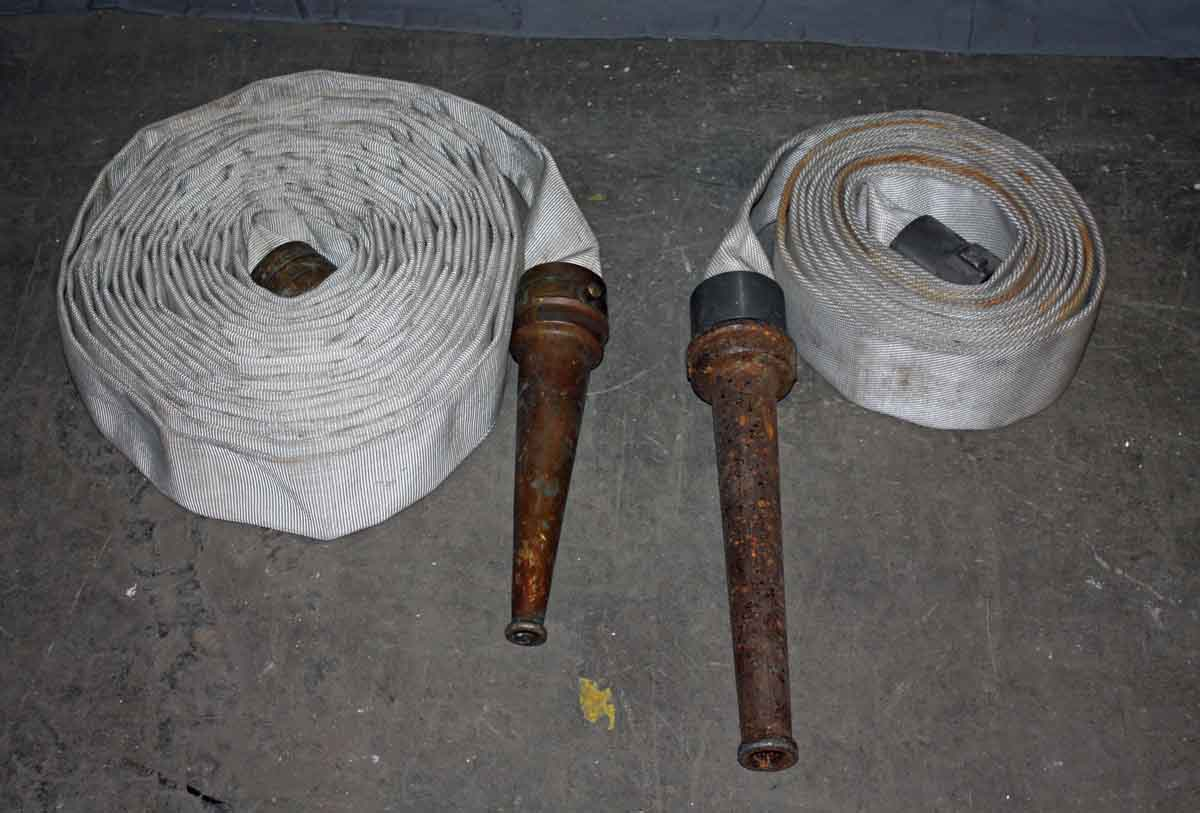 Set of Two Fire Hoses