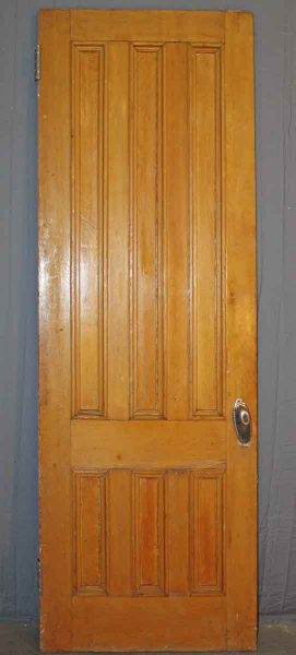 Six Vertical Panel Tall Victorian Doors from 1880s