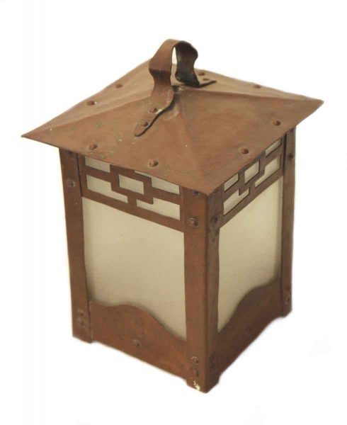 Copper Arts & Crafts Lantern