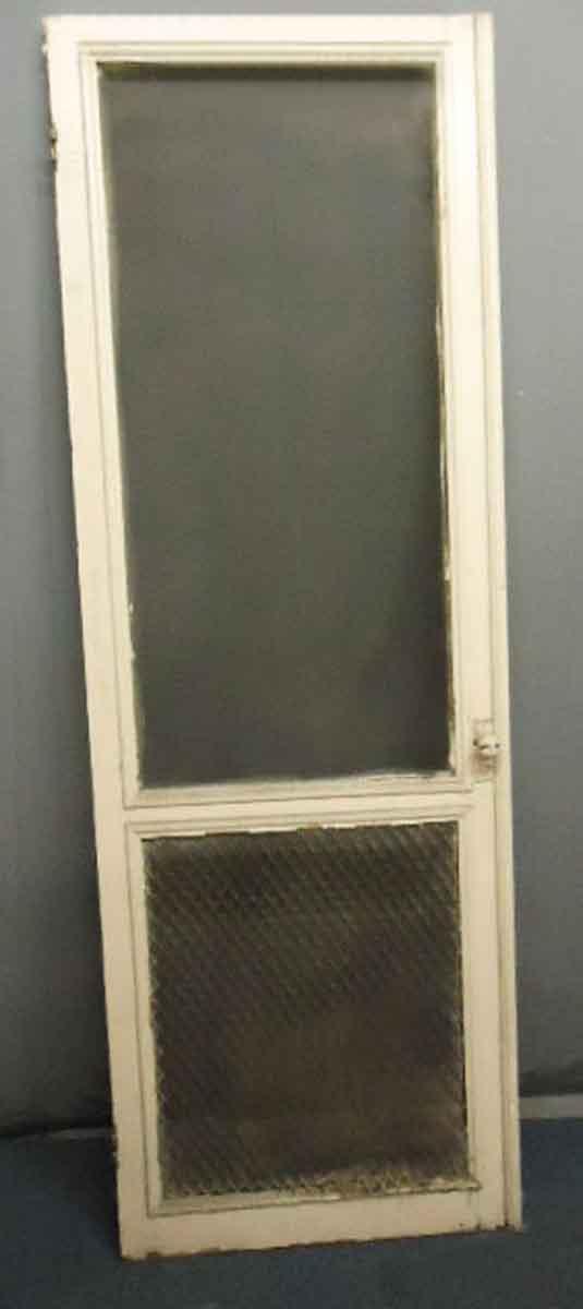 Screen Door with Door Handle