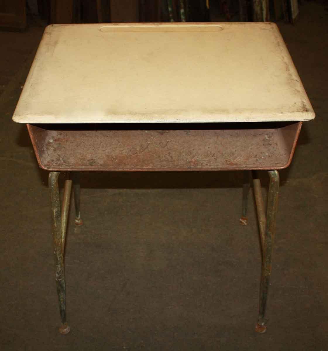 Heywood Wakefield Antique School Desks with Bakelite Top - Heywood Wakefield Antique School Desks With Bakelite Top Olde Good