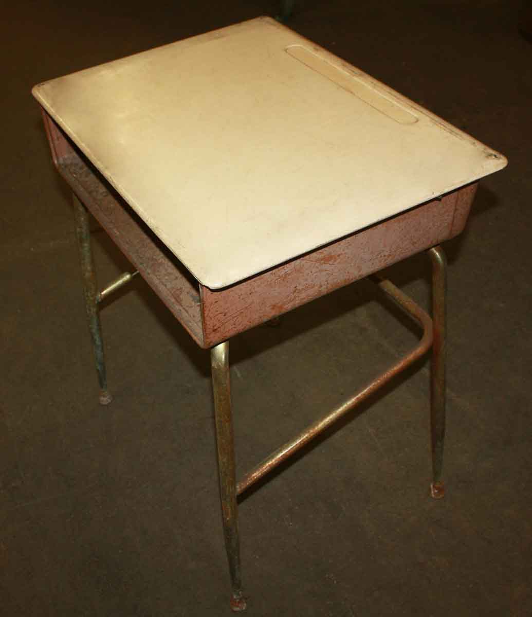 Heywood Wakefield Antique School Desks with Bakelite Top