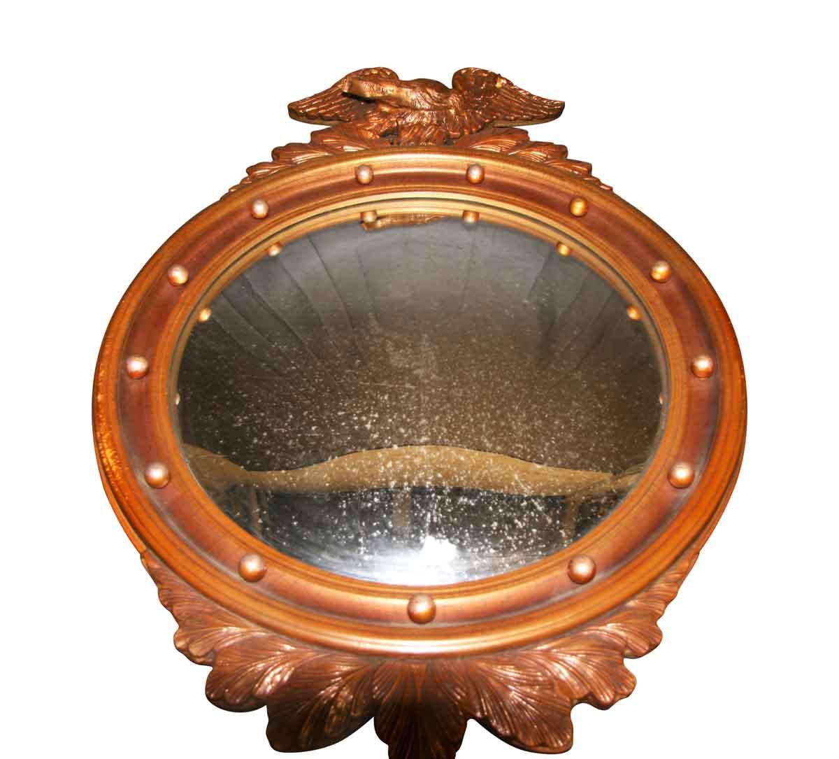 Vintage Detailed Federal Round Mirror