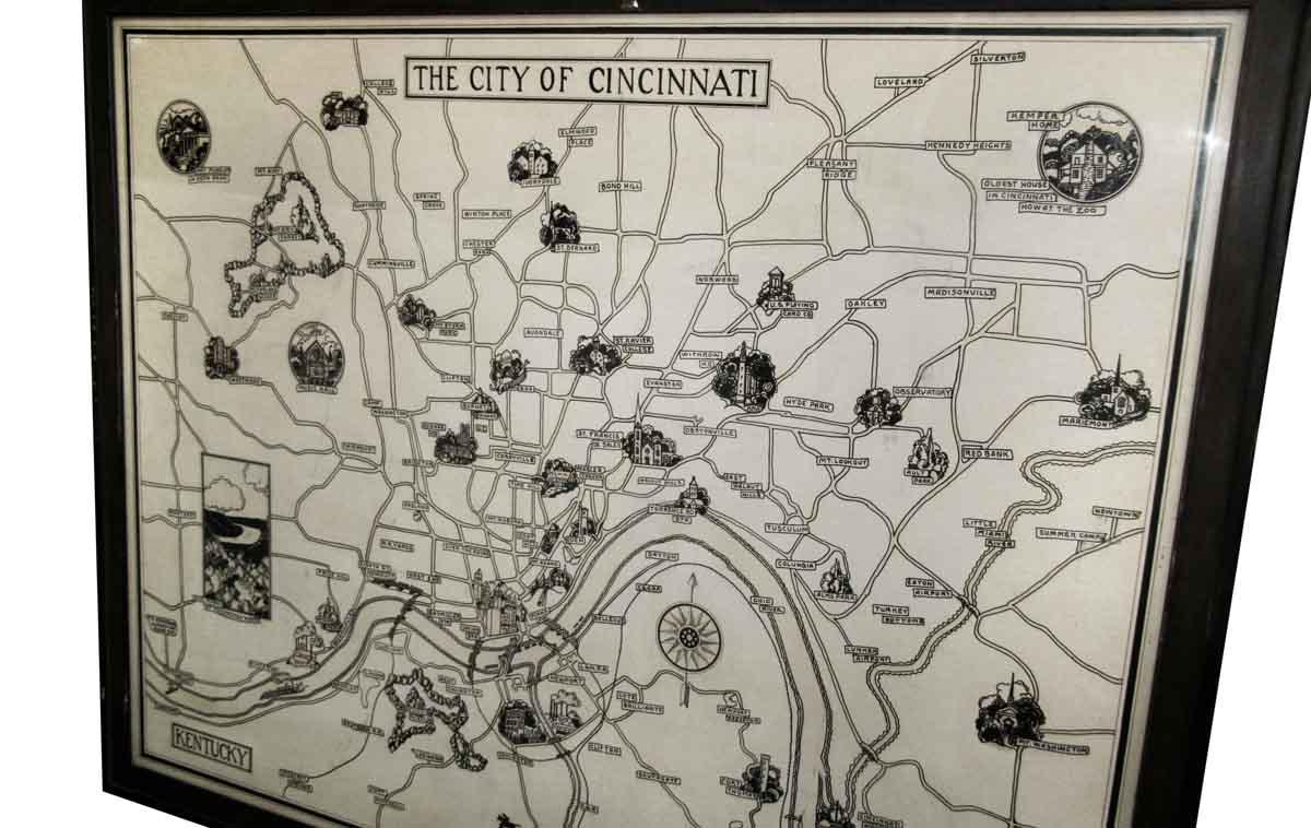 Great Cincinnati Map Picture