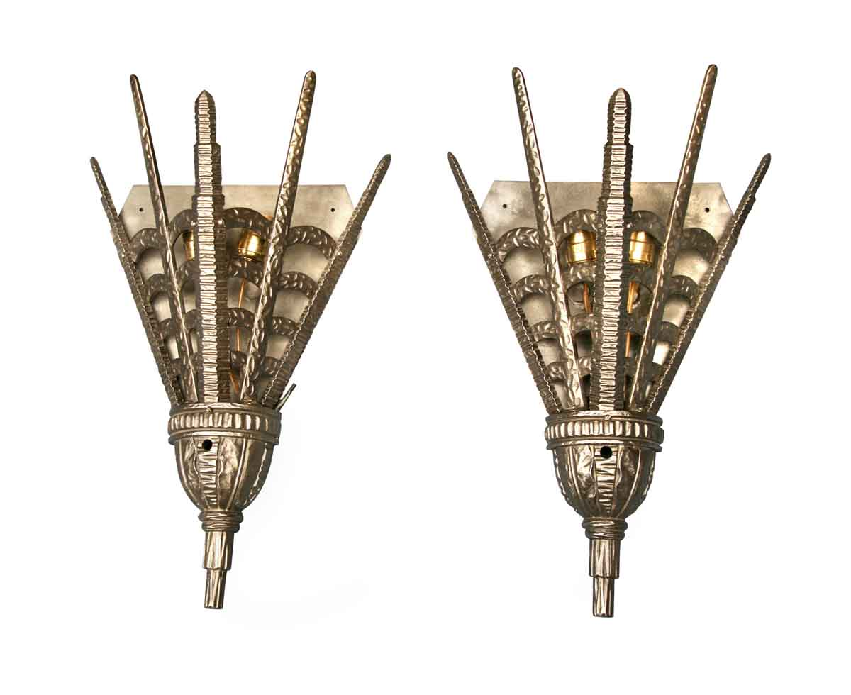 Art Deco Bronze Sconces