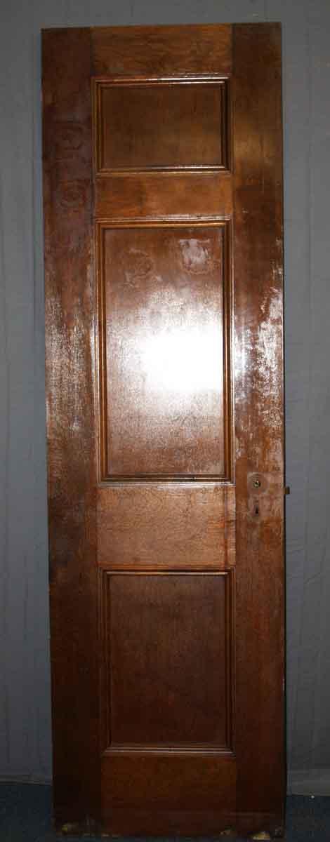 Three Panel Door with Asymmetric Layout