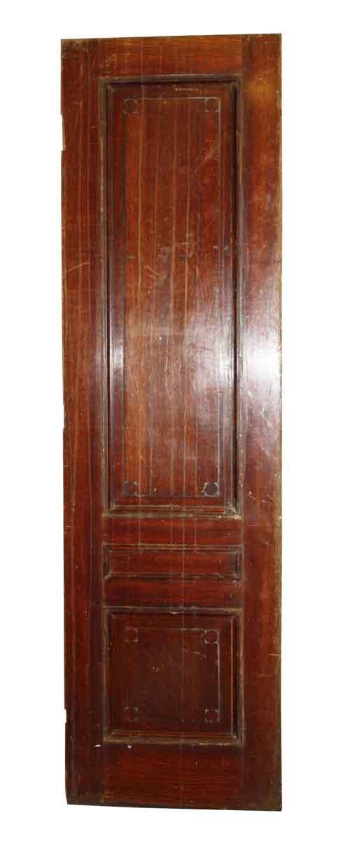 Narrow Three Panel Door