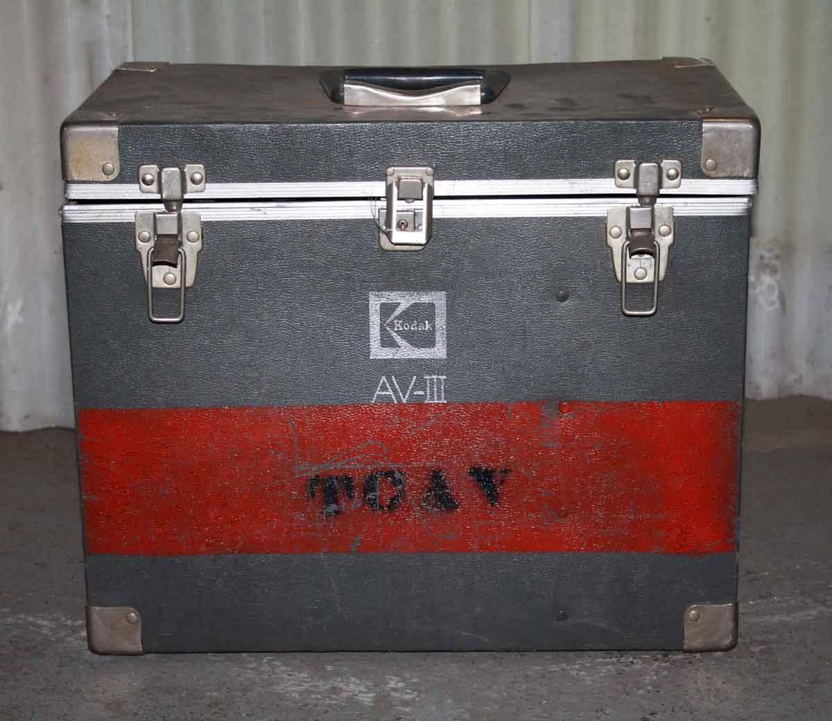 Kodak Av-Iii Slide Projector Case