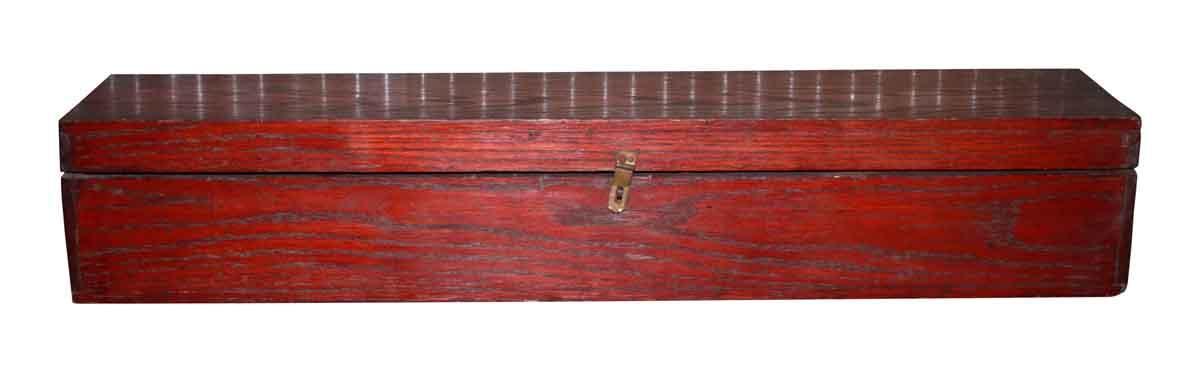 Antique Mahogany Storage Box