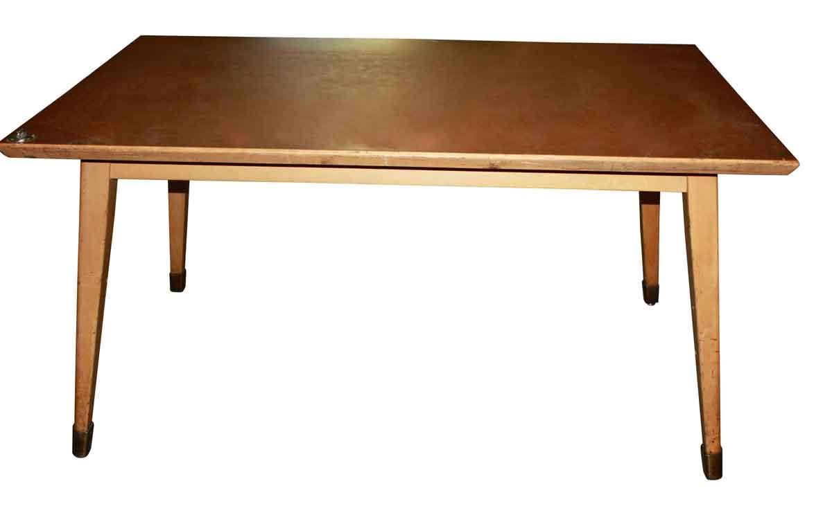 Mid Century Large Art Table