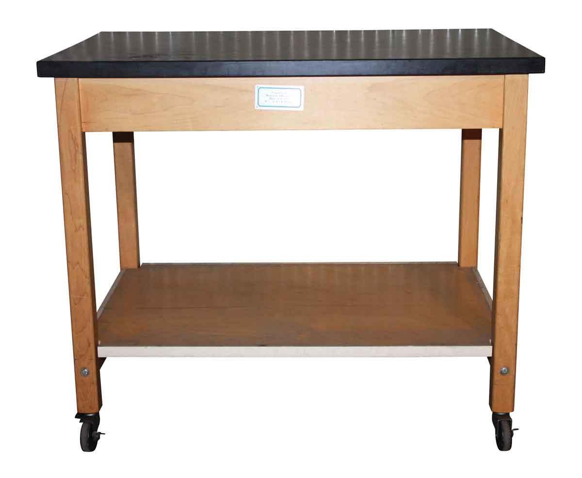 School Display Table with Wheels