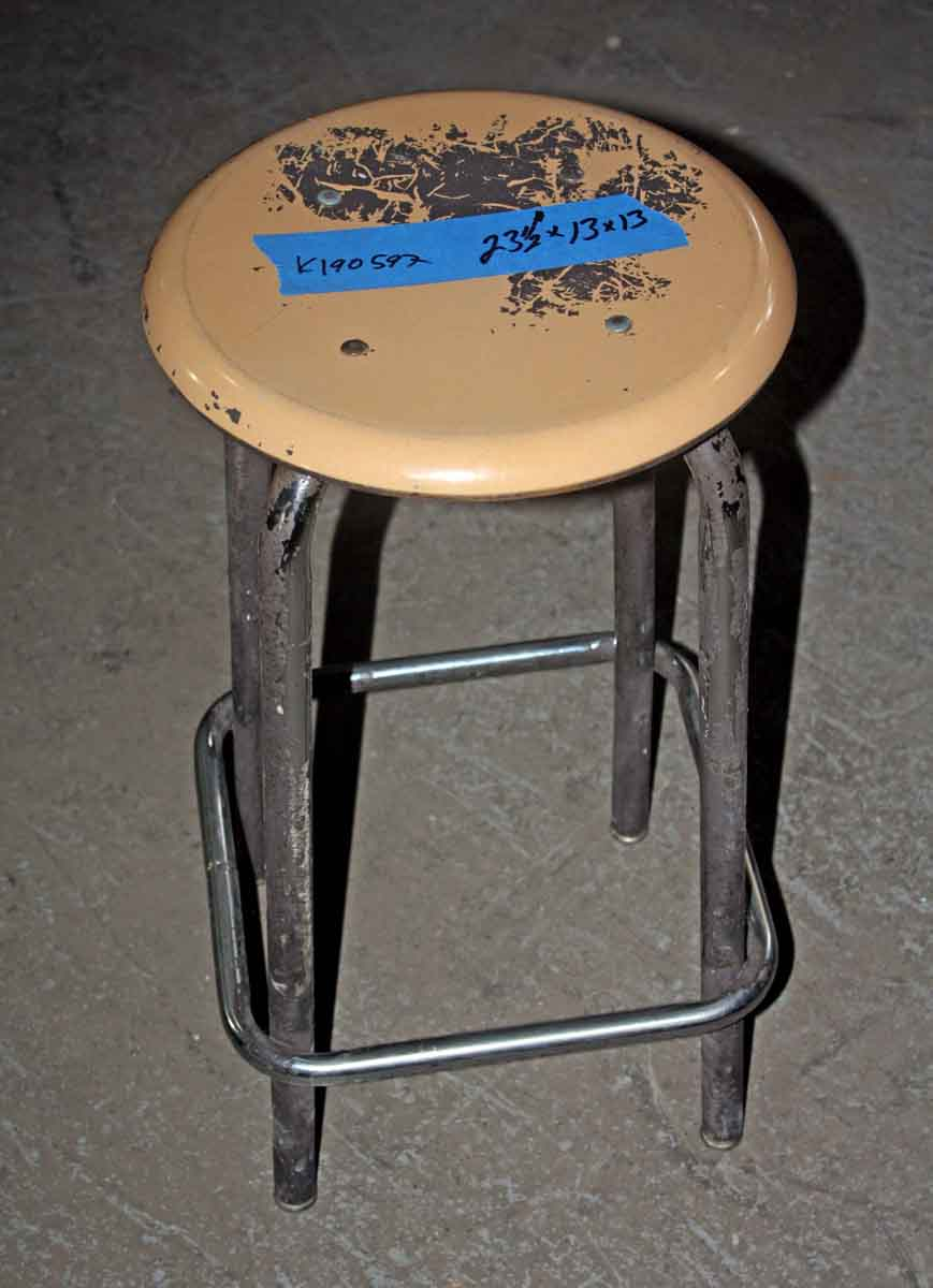 Stool with Hard Plastic Top