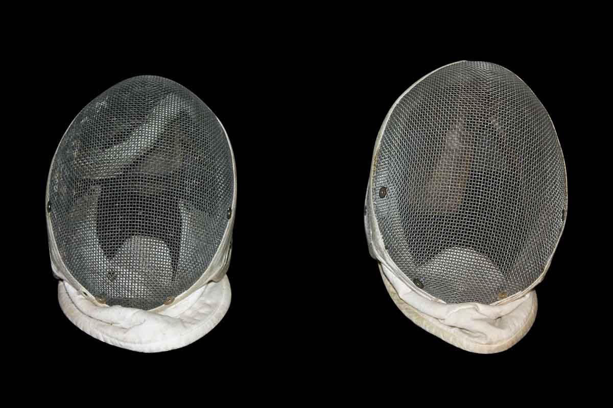 Vintage Fencing Masks
