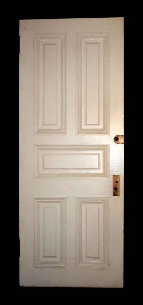 Interior Door with Five Defined Panels