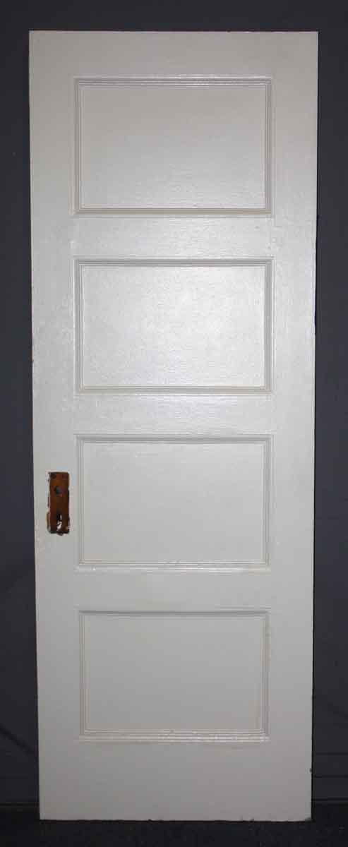 Pair of Tiger Oak Horizontal Panel Doors
