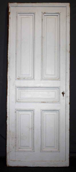 Oversized Five Panel Pocket Door