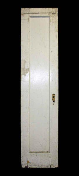 Narrow Single Panel Door