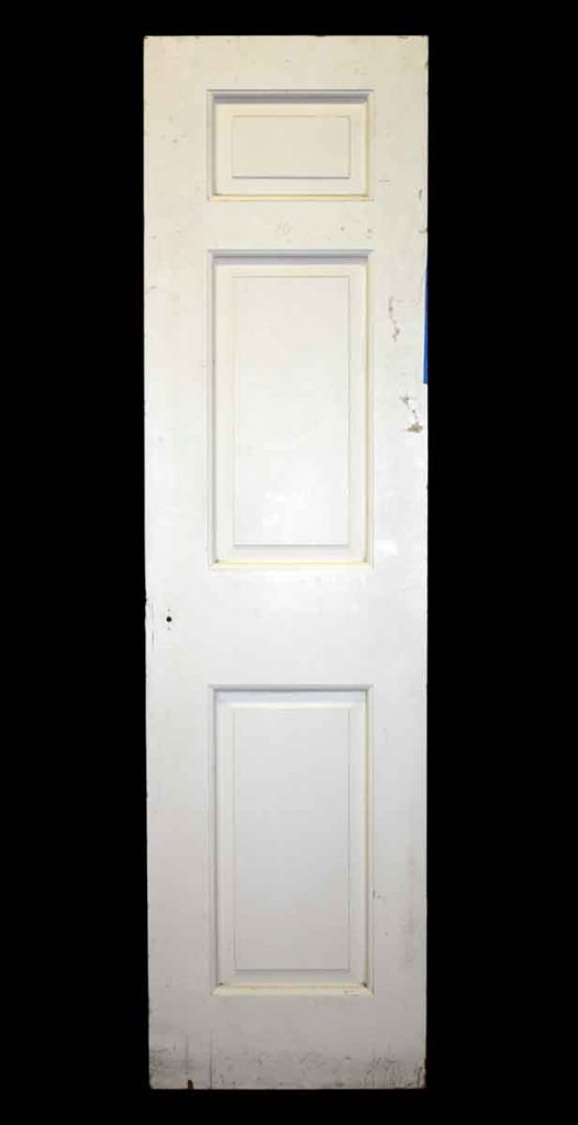 Three Raised Panel Narrow Door & Architectural Salvage Doors Vintage u0026 Antique Doors | Olde Good Things