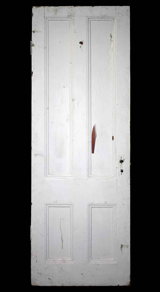 Single Four Vertical Panel Door