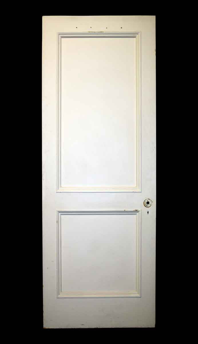 Double Panel Door with Rounded Molding