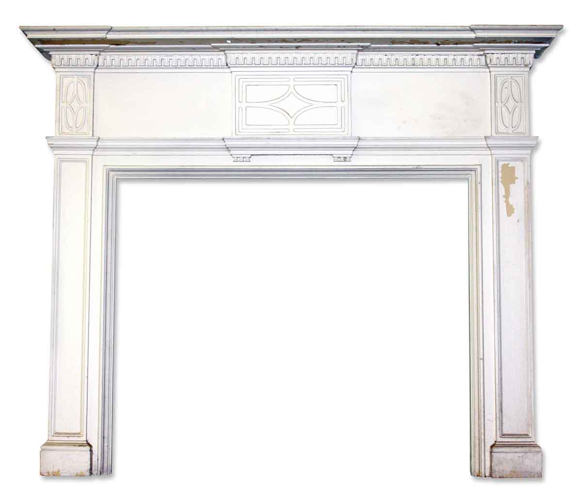 Georgian Style Mantel with Diamond Detail