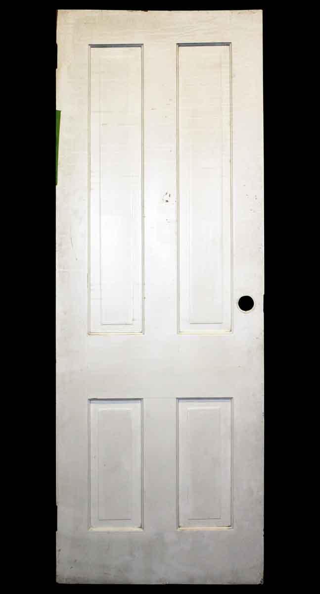 Four Vertical Raised Panel Door