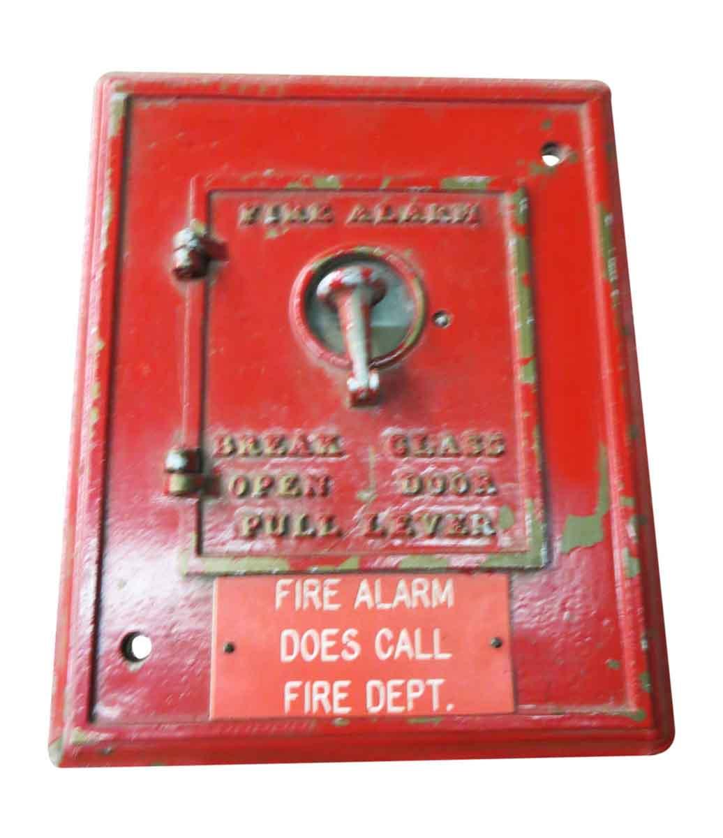 Square Fire Alarms