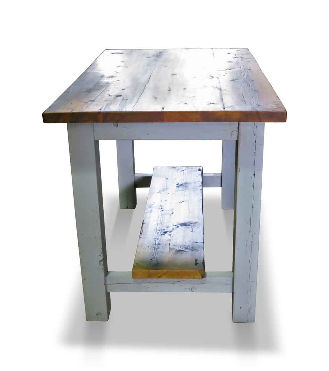 Pine Kitchen Tables For Reclaimed Pine Kitchen Island Or Work Table Olde Good Things