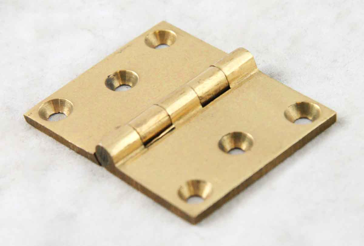 Brass Hinge with Three Knuckles