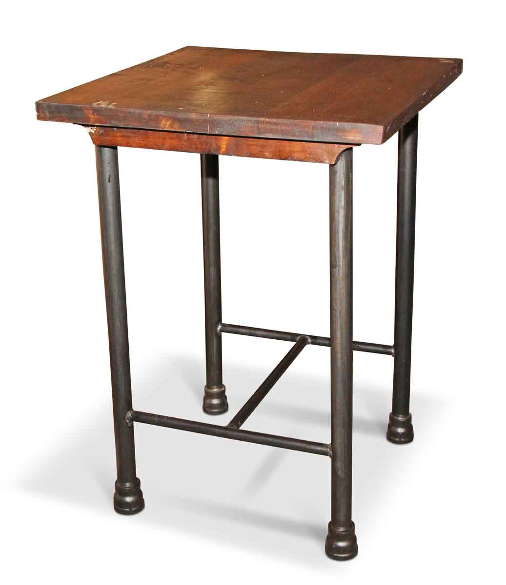 Table Carrée Cuisine: Square Kitchen Island Or Tall Side Table