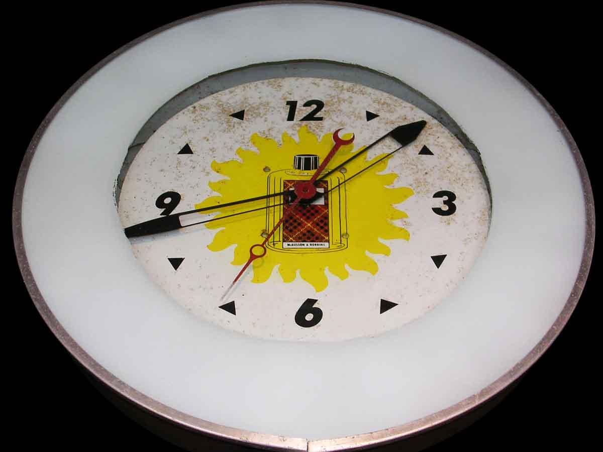 Tartan Neon Wall Clock