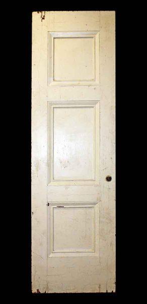 Thick But Narrow Three Panel Door