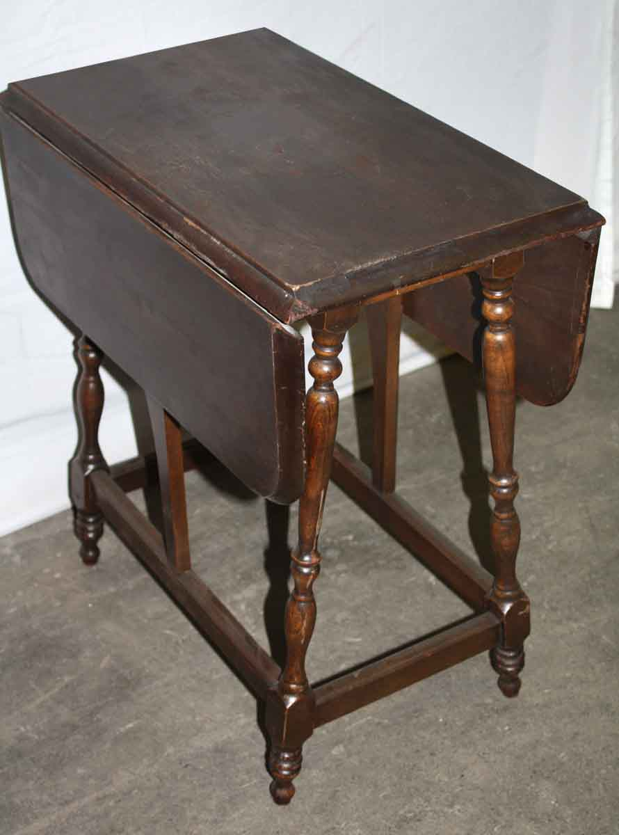 Small Drop Leaf Side Table Olde Good Things