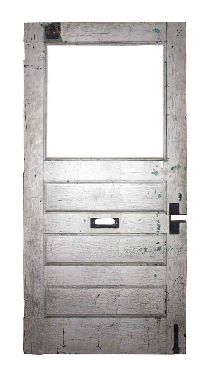 Four Panel Door with Missing Glass